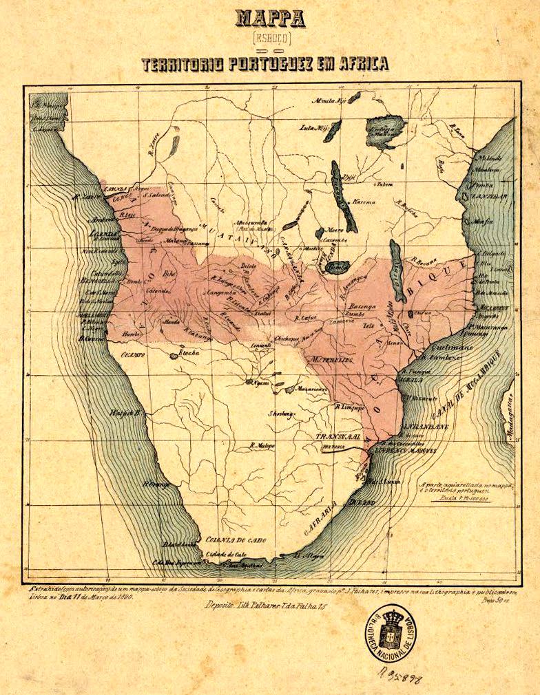 África, donde os cravos vêm / L'Afrique, là d'où viennent les oeillets
